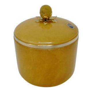 Italian Alabaster Covered Jar