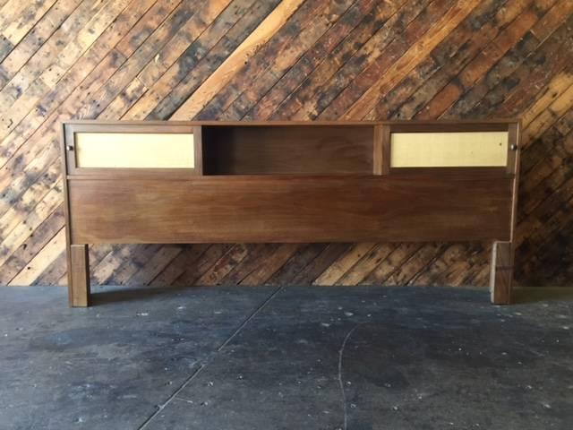 Mid Century Storage King Headboard   Image 2 Of 6