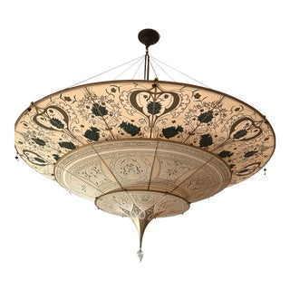 Fortuny 3 Tiered Silk Chandelier