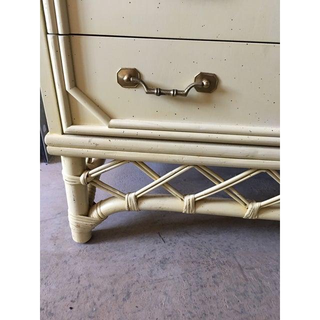 Ficks Reed Hollywood Regency Dresser - Image 5 of 6