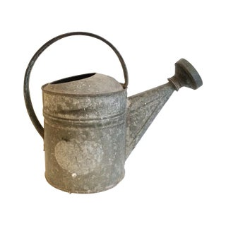 Rustic Galvanized Watering Can