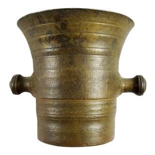 Antique Bronze Apothecary Mortar