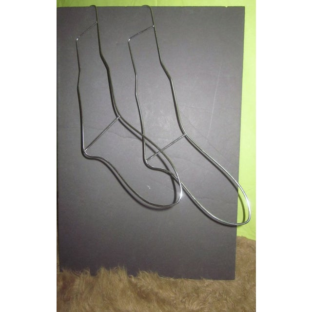 Two Modernist Wire Stocking Sock Forms - Image 3 of 6