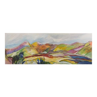 """""""Anysberg, Karoo"""", Original Oil on Canvas, Thelma Mort, Western Cape Province, South Africa 2013"""