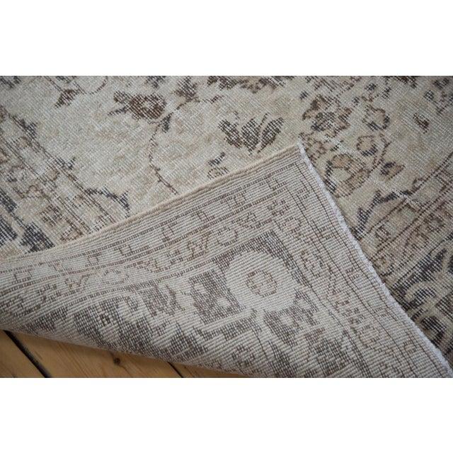 "Distressed Oushak Carpet - 7'3"" x 10'4"" - Image 4 of 4"