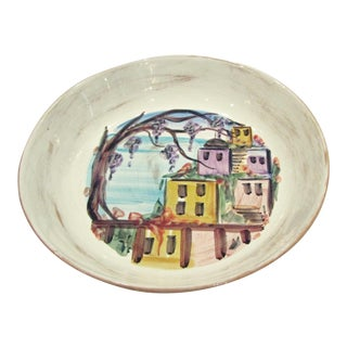 Hand Painted Vietri Serving Dish