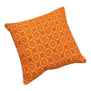 Orange Italian Artisan Pillow