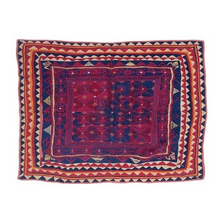 Antique Embroidered Indian Textile
