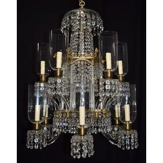 Antique lighting, chandelier
