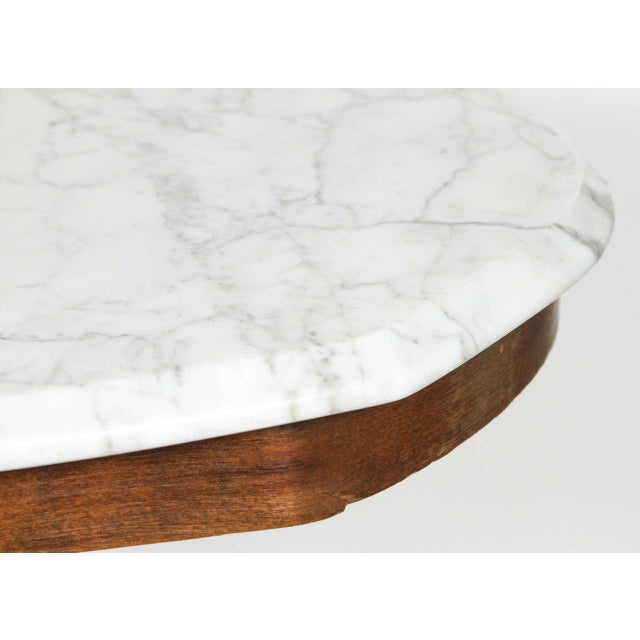 Thonet Bentwood & Marble Side Table - Image 6 of 6
