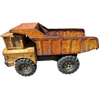 Rustic Tonka Dump Truck