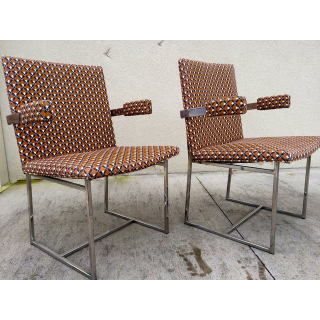 Milo Baughman ForThayer Coggin Chairs - Set of 8 - Image 6 of 11