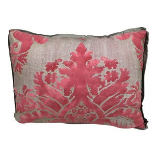 Pink & Silver Fortuny Pillow