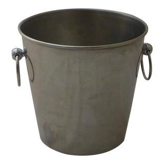 Massoni and Mazzeri for Inox Italian Stainless Ice Bucket