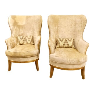 Pair of Currey and Company Veronica Chairs