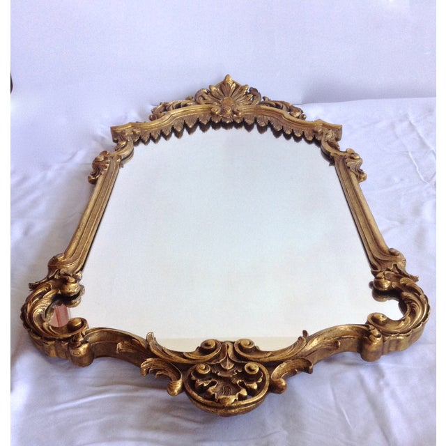 French Gilt Carved Mirror - Image 3 of 10