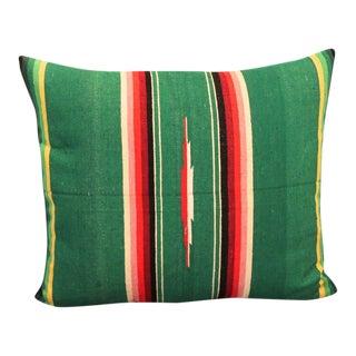Mexican American Handwoven Serape Pillow
