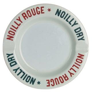 Vintage Noilly Rouge Ceramic Ashtray