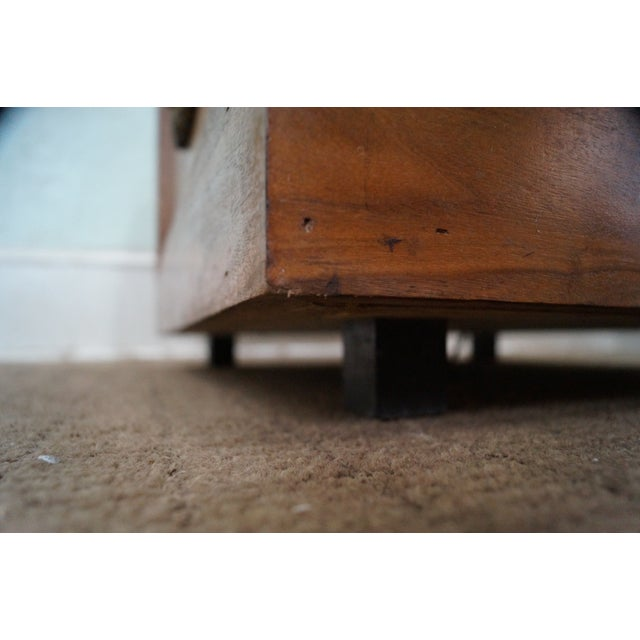 Solid Walnut Cube End Tables - A Pair - Image 6 of 10