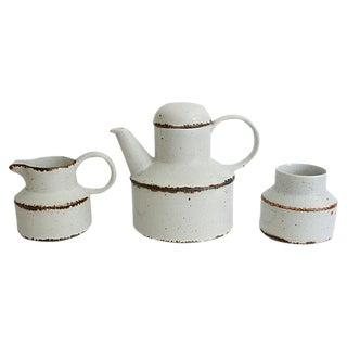English Stoneware Serveware - Set of 3