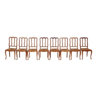 French Provincial 1930s Dining Chair - Set of 8