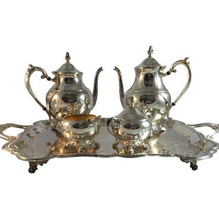 Reed and Barton Silver Plate Tea Service