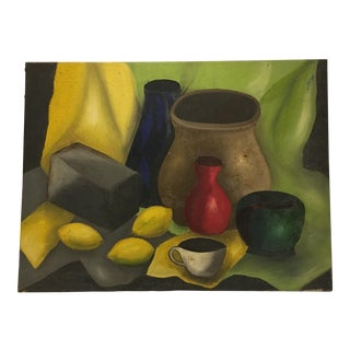 Vintage Still Life Oil Painting