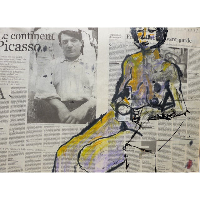 'Picasso & His Model' Drawing - Image 7 of 9