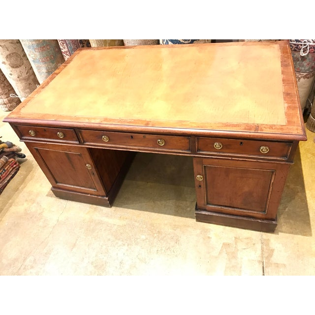 Gorgeous Antique Authentic Late 18th Century English Partners Desk - Image 3 of 5