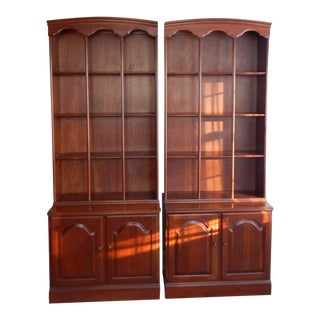 Ethan Allen Mid-Century Bookcases - A Pair