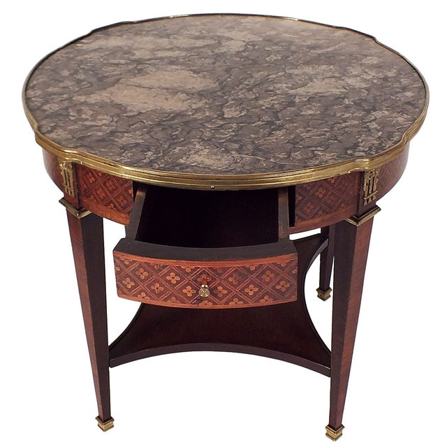 Image of Early 20th Century French Gueridon Side Table