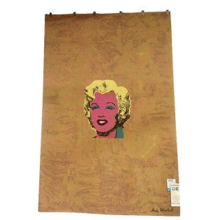 Andy Warhol Gold Marilyn Monroe Tapestry