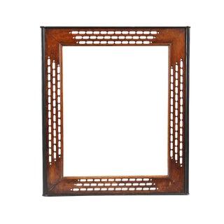 20th Century Vintage Wood Mirror