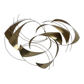 Curtis Jeré Abstract Metal Wall Sculpture