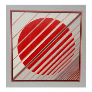 Parviz Zargarpoor Op Art Print
