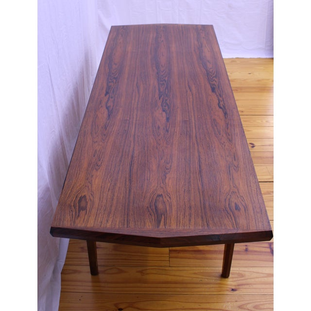 Danish Mid Century Rosewood Coffee Table - Image 3 of 5