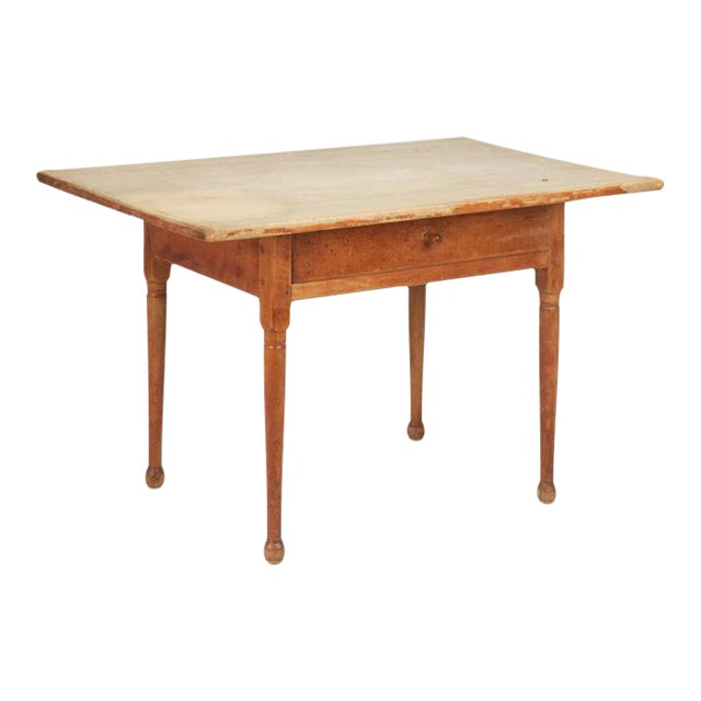 Antique American Pine Farm Table - Image 1 of 11