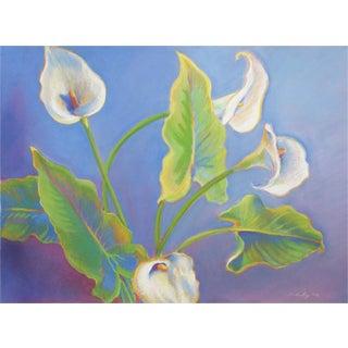 Linda Ruiz Lozito Calla Lilies Soft Pastel Drawing