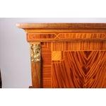 Image of Empire-Style Mahogany Bar Cabinet