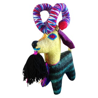 Mexican Felted Wool Animal