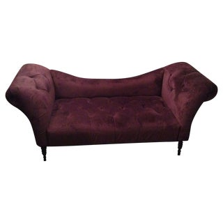 Purple Chaise Lounge