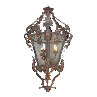Spanish Wrought Iron Lantern