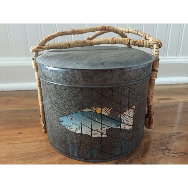 Metal Fishing Creel - Image 2 of 7