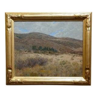 George Gardner Symons-Hills at Laguna Canyon-California Impressionist-Oil Painting