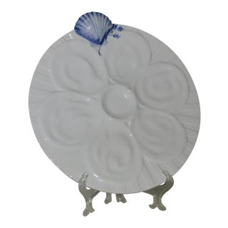 Artland White Oyster Plate