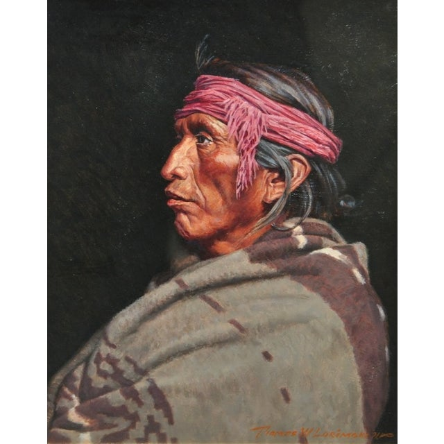 Image of Navajo Oil Portrait by Thomas Lorimer