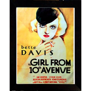 """1935 """"The Girl from 10th Avenue"""" Movie Poster"""