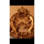 Image of Gold Gilt Ornate Wood Wall Mirror