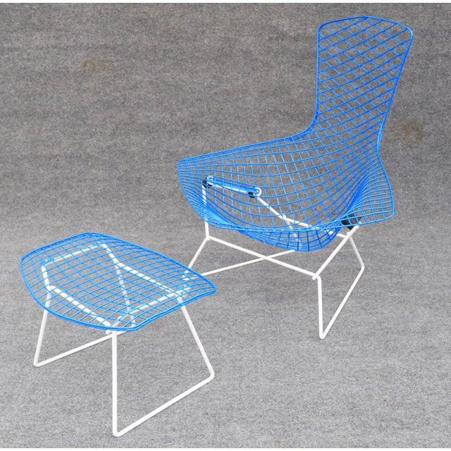 """Mid-Century Modern """"Bird"""" Chair & Ottoman - Image 8 of 10"""