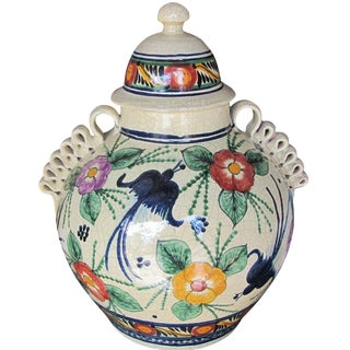 Mexican Pottery Decorative Jar